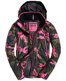 Superdry Printed Velocity Windcheater Jacket