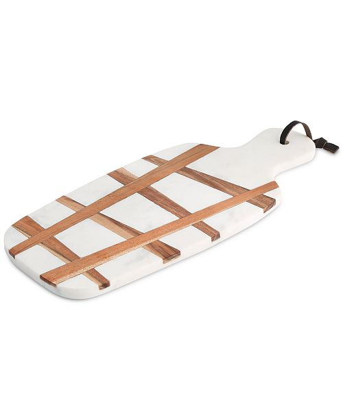 Thirstystone CLOSEOUT! Congo Sunset Marble & Wood Serving Board