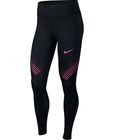Fast Dri-FIT Graphic Running Leggings