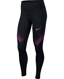 Nike Fast Dri-FIT Graphic Running Leggings