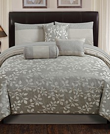 Selvy 7 Pc King Comforter Set