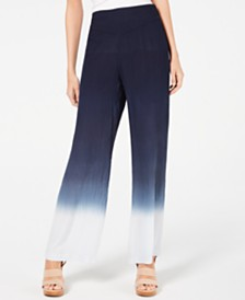 I.N.C. Ombré Wide-Leg Pants, Created for Macy's