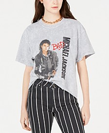 Cotton Michael-Jackson-Graphic T-Shirt