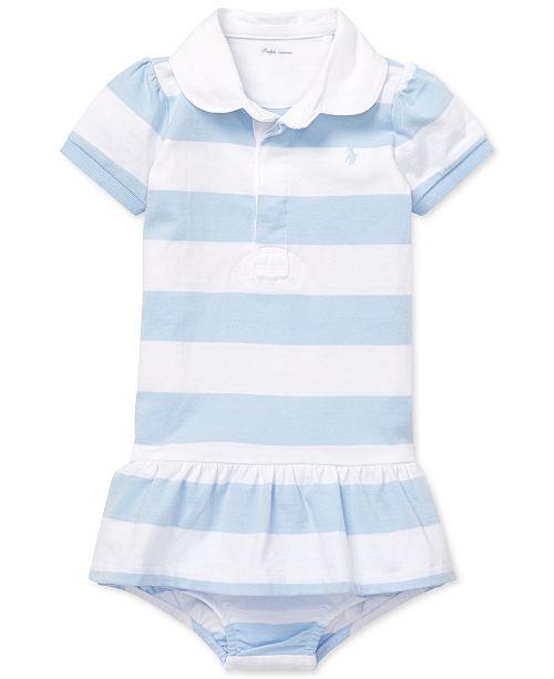 Polo Ralph Lauren Baby Girls Cotton Rugby Dress