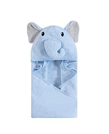 Baby Vision One Size Unisex Baby Animal Face Hooded Towel, 1-Pack
