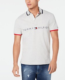 Tommy Hilfiger Men's Custom-Fit Tomas Graphic Polo, Created for Macy's