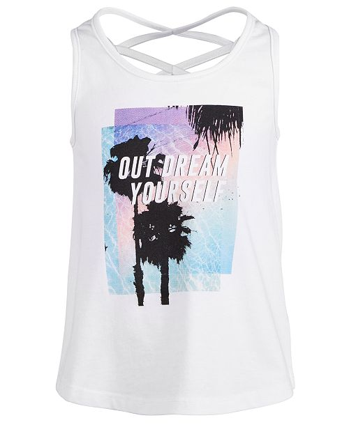 Ideology Toddler Girls Dream-Print Tank Top, Created for Macy's