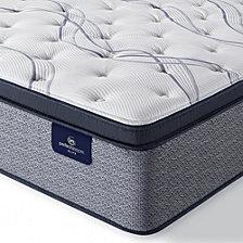 """Serta Perfect Sleeper Trelleburg II 14.75"""" Plush Pillow Top Mattress - Queen"""