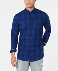 American Rag Men's Jon Plaid Shirt, Created for Macy's