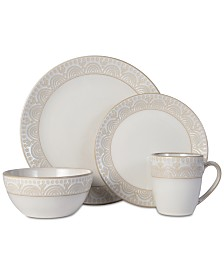 Pfaltzgraff Amelia Cream 16-pc. Dinnerware Set, Service for 4