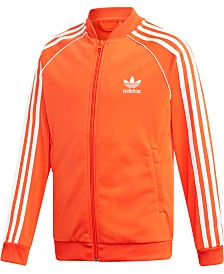 adidas Originals Big Boys Super Star Jacket