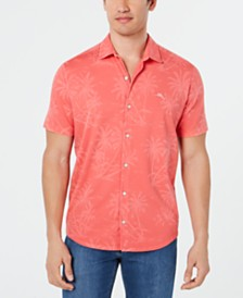 Tommy Bahama Men's Mahanaha Palm Pima Shirt