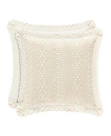 "Piper & Wright Sadie 18"" Square Pillow"