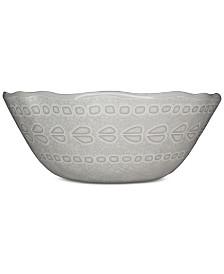 222 Fifth Capri Isle Mosaic Tile Melamine Cereal Bowl