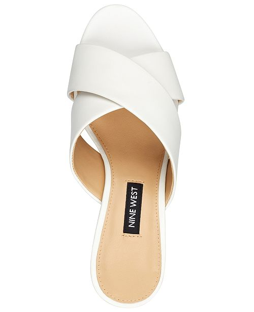 ffae0989561 Nine West Natalia Cross-Band City Sandals   Reviews - Sandals   Flip ...