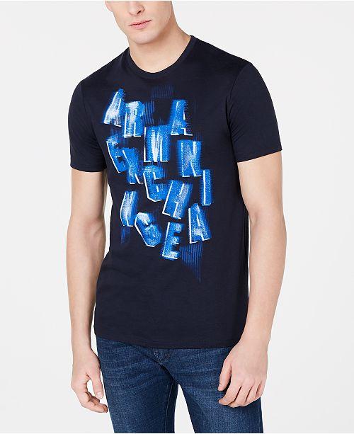 A|X Armani Exchange Men's Logo Graphic T- Shirt