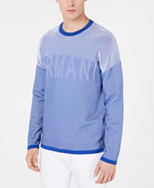 A|X Armani Exchange Men's Logo Graphic Sweater