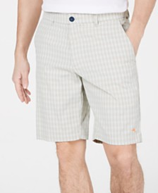 "Tommy Bahama Men's About That Check IslandActive Classic Fit Performance Stretch Moisture-Wicking 10"" Shorts"
