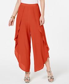 Thalia Sodi Tulip-Leg Pants, Created for Macy's