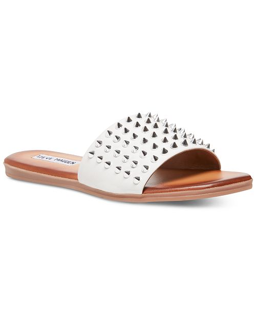 outlet store pretty nice available Steve Madden Farryn Studded Slides & Reviews - Slippers - Shoes ...