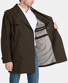 London Fog Men's Modern-Fit Fraser Double Breasted All Weather Coat