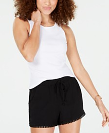 Ultra Flirt Juniors' Rib-Knit Tank Top