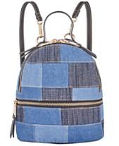 43d215d0fe7 Steve Madden Kelce Denim Patch Mini Backpack