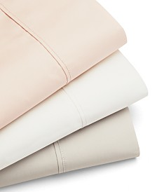 Luxura Home 6 piece Sateen King Sheet Set, 600 Thread Count Combed Cotton Blend