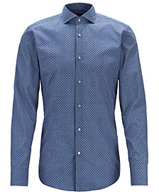 BOSS Men's Slim Fit Cotton Shirt