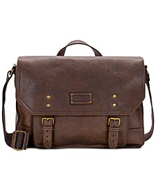 Men's Tuscan II Leather Messenger Bag