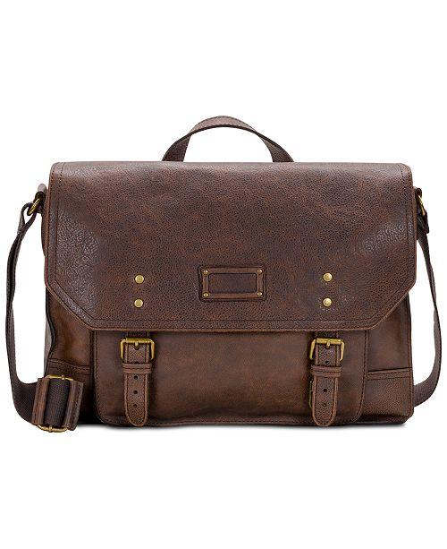Patricia Nash Men's Tuscan II Leather Messenger Bag