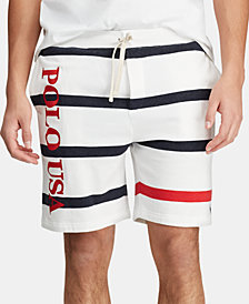 Polo Ralph Lauren Men's Striped French Terry Americana Shorts