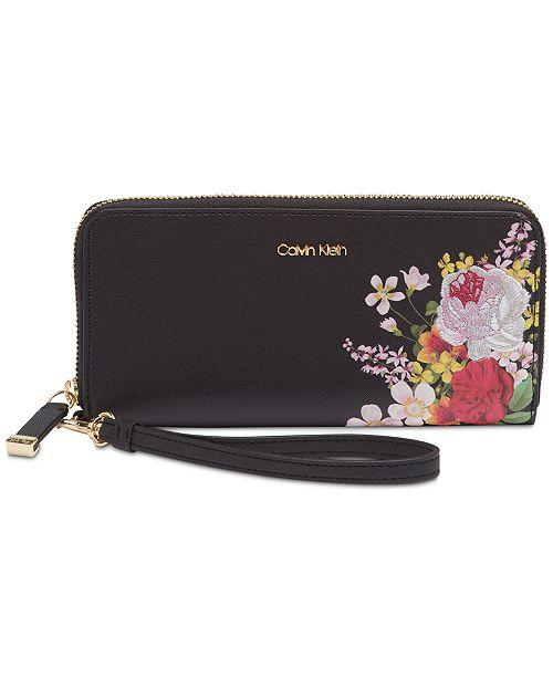 3eb0d80bf8 Calvin Klein Top Zip Wallet & Reviews - Handbags & Accessories - Macy's