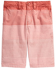 Big Boys Duarte Regular-Fit Gradient Stripe Shorts