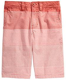 Univibe Big Boys Duarte Regular-Fit Gradient Stripe Shorts