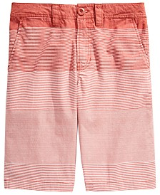 Univibe Big Boys Duarte Regular-Fit Gradient Stripe Shorts