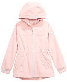 Michael Kors Big Girls Hooded Zip-Up Jacket