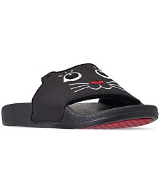 Skechers Women's BOBS Pop Ups - Paws-i-tive Bobs for Dogs and Cats Slide Sandals from Finish Line