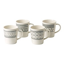 Crafted by Royal Doulton Mug, Set of 4