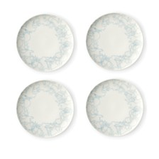 ED Ellen DeGeneres Crafted by Royal Doulton Polar Blue Plate, Set of 4