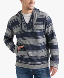 Lucky Brand Men's El Sol Regular-Fit Stripe Baja Hoodie