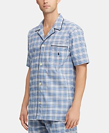 Polo Ralph Lauren Men's Plaid Pajama Shirt
