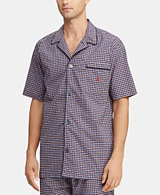 Polo Ralph Lauren Men's Plaid Pajama Shirt