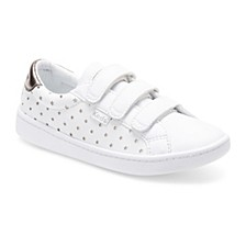 Toddler & Little Girls Ace Perforated Star Sneaker