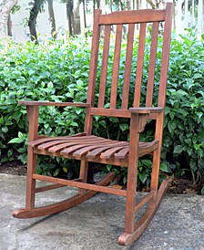 Traditional Oil Based Stain Rocking Chair