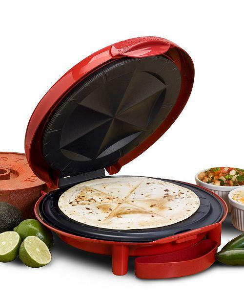 "Elite by Maxi-Matic Elite Cuisine 11"" Quesadilla Maker"