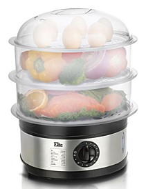 Elite Platinum 3 - tier 8.5 Quart Food Steamer