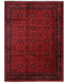 """Beshir 620668 Red 6'9"""" x 9'3"""" Area Rug"""