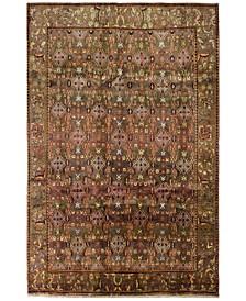 """Shiraz 627720 Gray 6'11"""" x 10'6"""" Area Rug"""