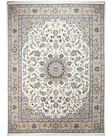 "BB Rugs Fine Indo Nain 628750 Ivory/Camel 9' x 12'5"" Area Rug"